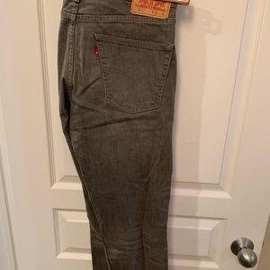 Men's Levi's 511 jeans.